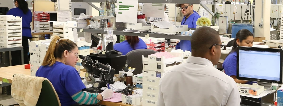 picture of lab personnel